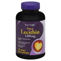 Natrol Soya Lecithin 1200 мг (120 капс)