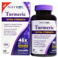 Natrol Turmeric Extra Strength (60 капс) - Куркумин