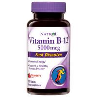 Natrol Vitamin B-12 5000 mcg Fast Dissolve (100 таб)
