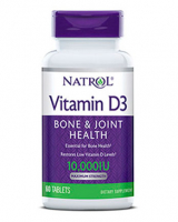 Natrol Vitamin D-3 10000 ME