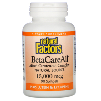 Natural Factors BetaCareAll 15,000 mcg