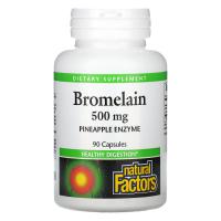 Natural Factors Bromelain 500 mg