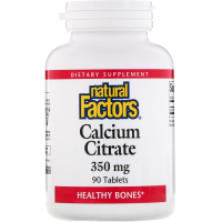 Natural Factors Calcium Citrate 350 mg