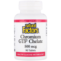 Natural Factors Chromium GTF Chelate