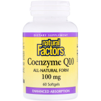 Natural Factors Coenzyme Q10 100 mg
