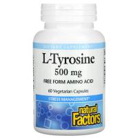 Natural Factors L-Tyrosine 500 mg