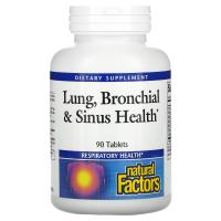 Natural Factors Lung, Bronchial & Sinus Health - Здоровье дыхательных путей