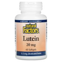 Natural Factors Lutein 20 mg