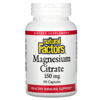 Natural Factors Magnesium Citrate