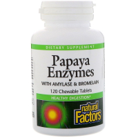 Natural Factors Papaya Enzymes