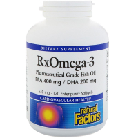 Natural Factors Rx Omega-3 630 mg