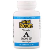 Natural Factors Vitamin A 10000 IU