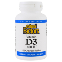Natural Factors Vitamin D3 400 IU