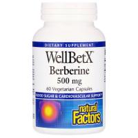 Natural Factors WellBetX Berberine 500 mg - Берберин