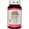 Natural Factors Zinc Chelate 25 mg - Хелатный цинк
