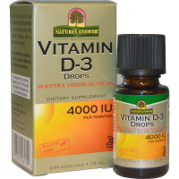 Nature's Answer Vitamin D-3 Drops 4000 IU (15 мл)