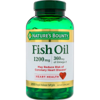 Nature's Bounty Fish Oil 1200 mg