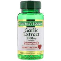 Nature's Bounty Garlic 1000 mg - Чеснок