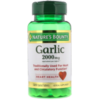 Nature's Bounty Garlic 2000 mg - Чеснок