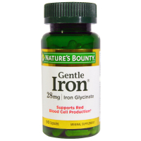 Nature's Bounty Gentle Iron 28 mg
