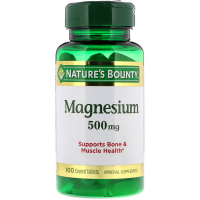 Natures Bounty Magnesium 500 mg