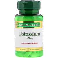 Nature's Bounty Potassium 99 mg