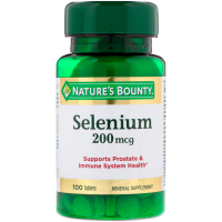 Nature's Bounty Selenium 200 mcg