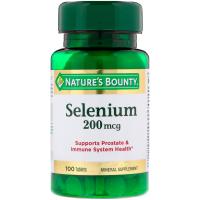 Nature's Bounty Selenium 200 mcg