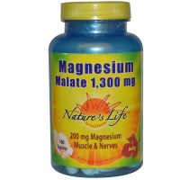 Nature's Life Magnesium Malate 1,300 mg