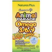 Nature's Plus Animal Parade Omega 3/6/9 Junior