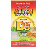 Nature's Plus Animal Parade Vitamin D3 500 IU