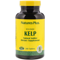 Nature's Plus Icelandic Kelp - Йод