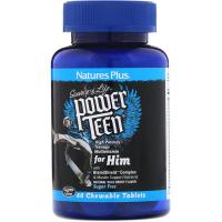 Nature's Plus Power Teen For Him - Витамины для подростков