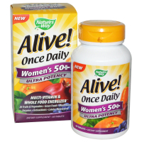 Nature's Way Alive! Once Daily Women's 50+ Multi-Vitamin