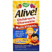 Nature's Way Alive! Children's Chewable Multi-Vitamin
