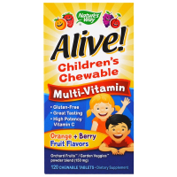 Nature's Way Alive! Children's Chewable Multi-Vitamin