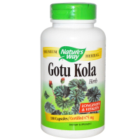 Nature's Way Gotu Kola 475 mg - Готу кола