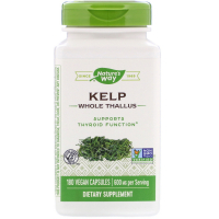 Nature's Way Kelp 600 mg - Йод