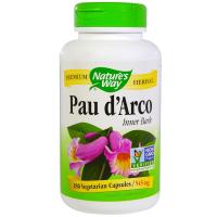 Nature's Way Pau d'Arco 545 mg - Кора муравьиного дерева