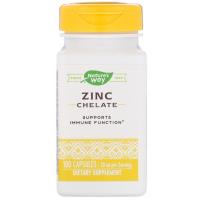 Nature's Way Zinc Chelate 30 mg - Хелат цинка