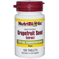 NutriBiotic Grapefruit Seed Extract 125 mg