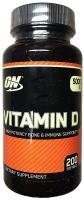 Optimum Nutrition Vitamin D (200 капс)