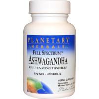 Planetary Herbals Full Spectrum Ashwagandha 570 mg - Ашваганда