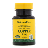 Nature's Plus Copper 3 mg