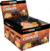 PureProtein Protein Cookies 35% protein (12 штук)