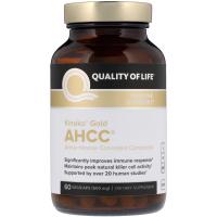 Quality of Life AHCC 500 mg - поддержка иммунитета