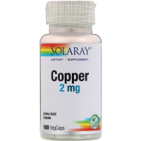 Solaray Copper 2 mg