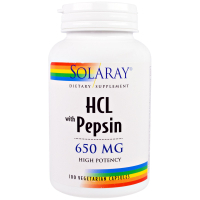 Solaray HCL with Pepsin 650 mg