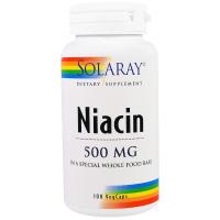 Solaray Niacin 500 mg