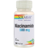 Solaray Niacinamide 500 mg